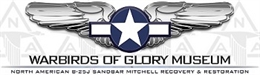 Link to warbirds of Glory Museum